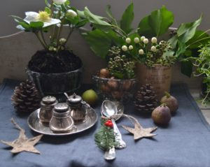 12 Days of Making (3) Natural table decorating